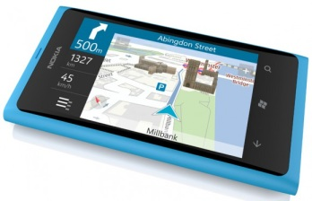Lumia 800 - nokia Cartes