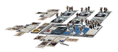 Dead Of Winter - Plateau de jeu