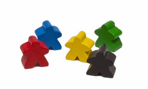 Carcassonne - Meeples