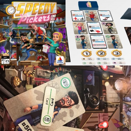 Essen 2017 - Speedy Pickers