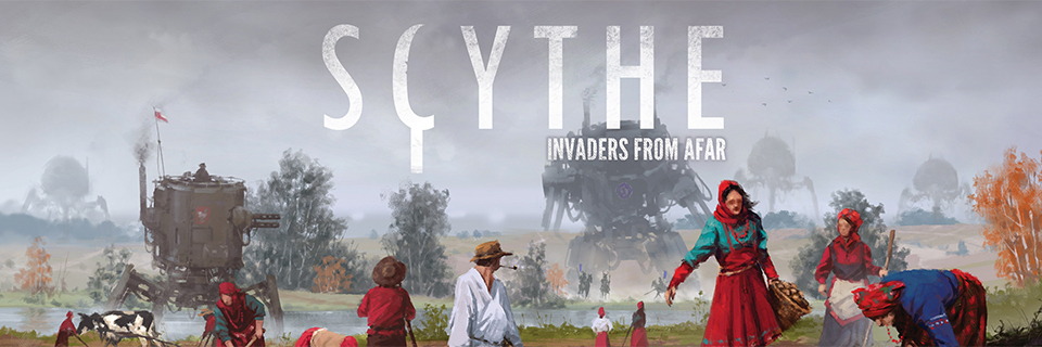 Scythe - Invaders from Afar - Titre