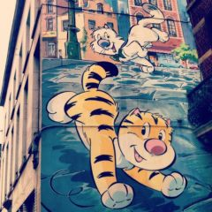 Bruxelles - Parcours BD - Billy the Cat
