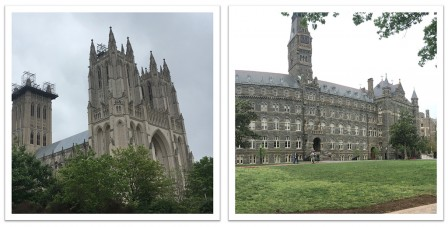Cathédrale et Georgetown university