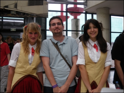 Japan Expo 2009 - Cosplay School Rumble - Tenma et Eri