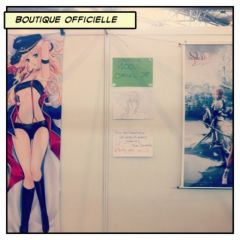 Japan Expo 2012 - Boutique officielle
