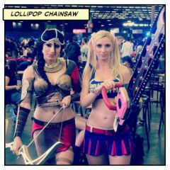 Japan Expo 2012 - Lollipop Chainsaw