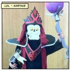 Japan Expo 2012 -  League of Legend Cosplay - Karthus