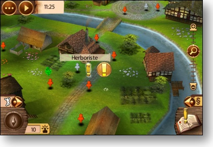 Sims Medieval Iphone - Carte Village