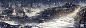 Dead of Winter : La croisée des chemins. Le jeu où le zombie te oneshot.