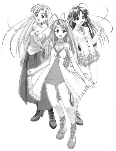 Les héroines de Ken Akamatsu
