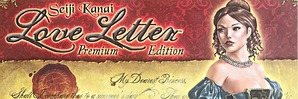 Love Letter Premium Edition - Présentation du jeu