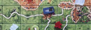 Carcassonne extension: Die zöllner. Les douaniers débarquent dans la citadelle!