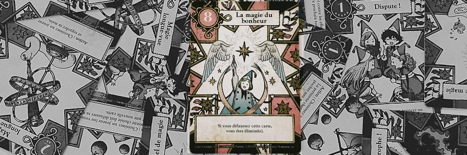 L'examen des sorciers - cartes magie