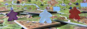 Variante solo officielle pour Carcassonne – Trois couleurs pour un seul joueur.
