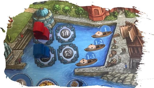 Rajas of the Ganges - Le port