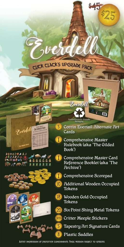 Everdell Click Clack's Upgrade Pack