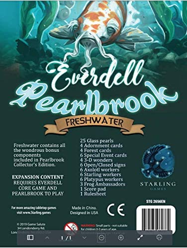 Everdell Pearlbrook Freshwater Upgrade Pack